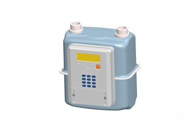 STS Diaphragm Token Gas Meter